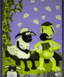 فرش ماشینی عروسکی افرند مدل 1003 - shaun the sheep carpet