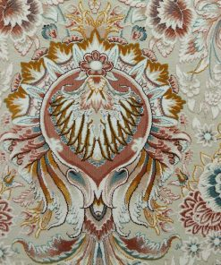 فرش کلاسیک افرند طرح النا - زمینه کرم
