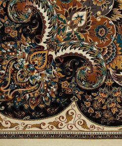 فرش کلاسیک افرند طرح مانا - زمینه کرم