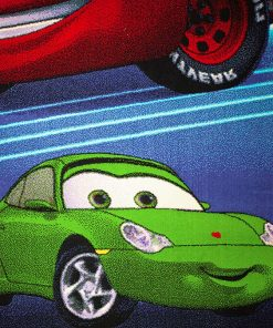 فرش ماشینی کودک افرند مدل 1051 طرح ماشین ها