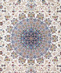 فرش ماشینی افرند دستباف نما 1250 شانه کد 24700