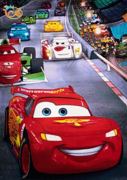 فرش کودک افرند مدل انیمیشن ماشینها کد 127
