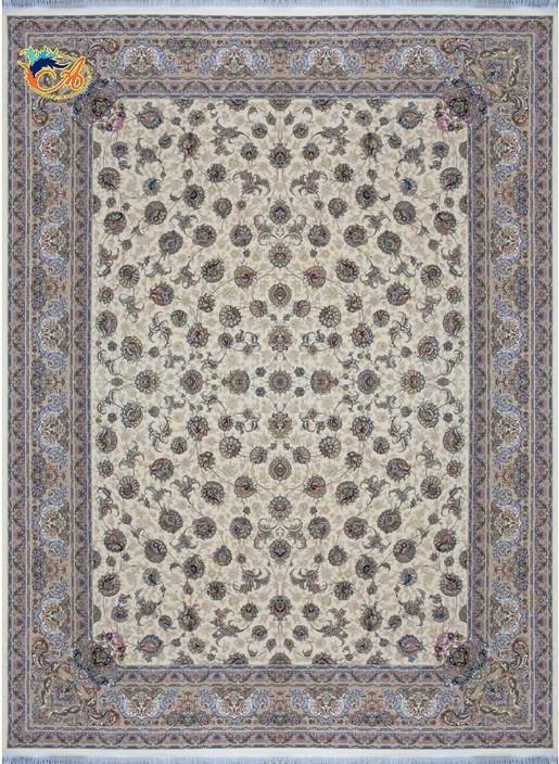 فرش ماشینی دستباف نما افرند کلکسیون گل ابریشم