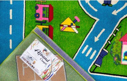 فرش ماشینی کودک افرند کد 112
