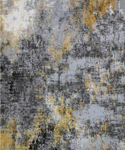 فرش ماشینی افرند طرح پتینه کد 6622