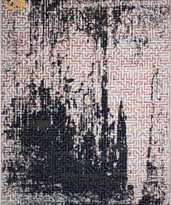 فرش ماشینی افرند طرح پتینه کد 6620