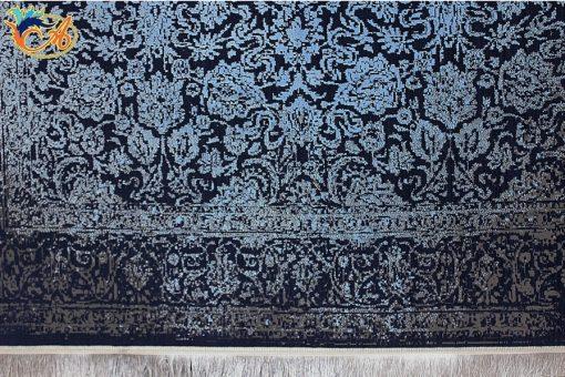 فرش ماشینی افرند طرح پتینه کد 6626