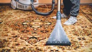 مراقبت از فرش ملشینی