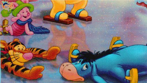 فرش کودک افرند مدل خرس پو کد 121
