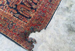 انواع سوختگی فرش دستباف