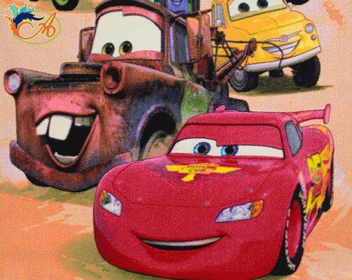 فرش کودک افرند طرح ماشین ها